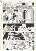 Batman #457 p.17 - Police Find Body - 1990 Comic Art