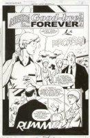 Archie Double Digest #203 p.2 Title Splash  Comic Art