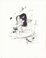 Elektra Nude Commission - Signed Comic Art