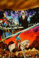 Mark McNabb Color Art of Prince Valiant Art over Hal Foster Stat 1993 Comic Art