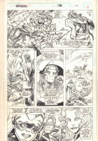 Hyperkind #9 p.12 - Action - 1994 Signed Comic Art