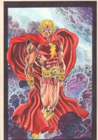 Captain Mar-Vell Warlock Color Commission - 2014 Signed Comic Art