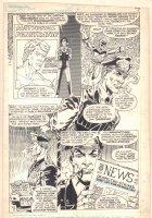 Captain Atom #6 p.5 - General and Captain Atom - 1987  Comic Art