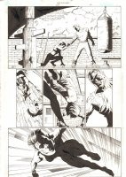 Catwoman #29 p.2 - Selina Kyle Training - 2004 Signed Comic Art