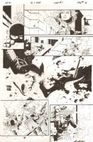 G.I. Joe: Special Missions #1 p.8 - Gunfight - IDW Publishing - 2013 Signed Comic Art