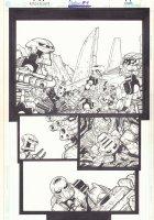 Bionicle #4 p.1 - Armed Bionicles - 2002  Comic Art