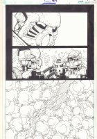 Bionicle #4 p.2 - Forest Action - 2002  Comic Art