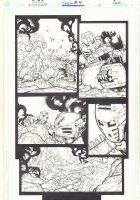 Bionicle #4 p.8 - Action - 2002  Comic Art