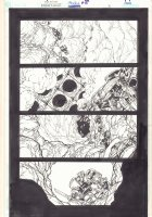 Bionicle #5 p.3 - Going into a Cave - 2002  Comic Art