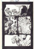 Bionicle #5 p.4 - In Cave - 2002  Comic Art