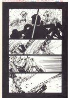 Bionicle #8 p.2 - Vs. Battle - 2002  Comic Art