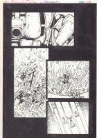 Bionicle #8 p.6 - Team Getaway - 2002  Comic Art