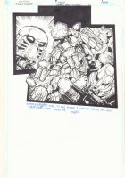 Bionicle Bahrok Saga 'Patches' p.6 - Signed Comic Art
