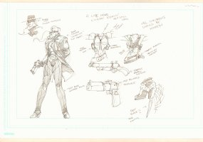 Wynonna Earp Character Designs Concept Art for TV Show  Comic Art