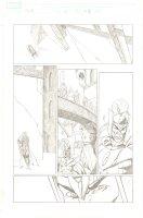 Thor #84 (586) p.16 - Ragnarok - Thor & Loki - 2004 Comic Art