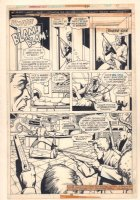 Astonishing Tales #32 p.15 - Deathlok Story - 1975  Comic Art