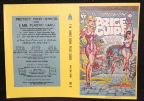 The Comic Book Price Guide #8 Cover Proof - 1983 Signed  Comic Art