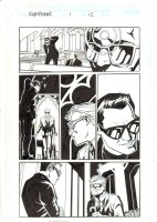 Nighthawk #1 p.12 - Matt Murdock in Church - 1998 Comic Art