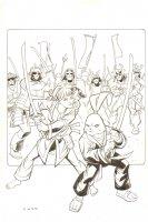 Annie Ammo and Usagi Yojimbo Art for Baltimore Comic Con Yearbook - 2013 Signed Comic Art
