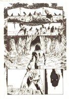 Marvel Zombies 4 #1 p.15 - Deathpool (Zombie Deadpool's Head) with the Marvel Zombie - 2009 Comic Art