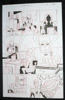 Secret Wars, Too #1 p.4 - Spider-Man, Daredevil, and Galactus - Signed Comic Art