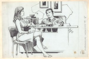 Mababangong Kasalanan #18 - Babe at the Office  Comic Art