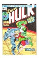 The Incredible Hulk #174 Cover Recreation - LA Comic Art