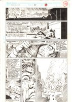 Marc Spector: Moon Knight #30 p.13 - Marc Spector Awakes on Rooftop in Costume - 1991  Comic Art