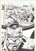 Hulk #20 p.11 - Hulk, Doc Samson, and Nick Fury - 2000 Comic Art