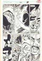Marc Spector: Moon Knight #32 p.24 - Black Suit Spider-Man vs. Hobgoblin - 1991  Comic Art