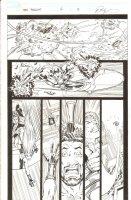 Hercules - Twilight - Issue 2 Pg 5 - Evil Silver Surfer Action Comic Art