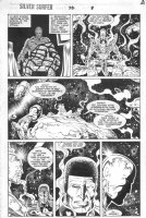 Silver Surfer #76 p.12 - Jack of Hearts Appearance Comic Art