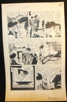 The Unseen #9 p.3 - LA - 'The Bleeding Platter' - 1953 Comic Art