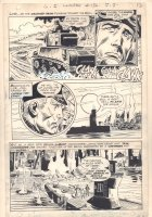 G.I. Combat #136 p.10 - Haunted Tank and U-Boat - 1969 Comic Art