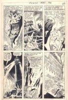 The Flash #192 p.16 - Ocean Rescue Action - 1969 Comic Art