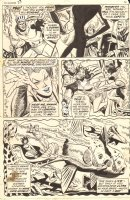 Sub-Mariner #37 p.2 - Namor's bride-to-be Dorma is Kidnapped by Llyra - 1971 Comic Art