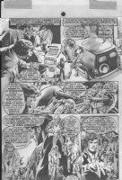 Hero & Robot Story p.6 - Warren black & white art  Comic Art