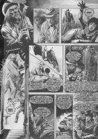 The Rook Gunfight p.62 - Awesome Warren black & white art  Comic Art