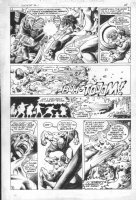 The Shield #1 p.28 - 1983 - Action vs. blast! Comic Art