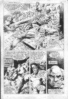 The Shield #1 p.29 - 1983 - Splashy action Comic Art