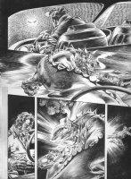 Vampirella Strikes #? p.10 - vs. Demons - LA Comic Art