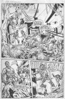 Vampirella Strikes #7 p.16 - Splashy massacre Comic Art