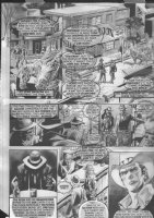The Rook Saloon pg - Very Sergio Leone - Warren B&W art Comic Art
