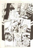 Hulk #19 p. 6 - Doc Samson Under Surveillance - 2000 Signed Comic Art