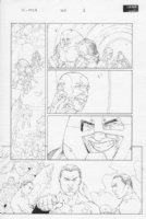 X-Men #160 p.1 Juggernaut, Iceman, Others Comic Art