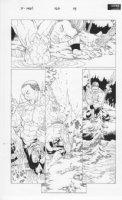 X-Men #160 p.14 Iceman Comic Art