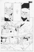 X-Men #160 p.18 Wolverine, Juggernaut Comic Art