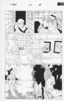 X-Men #160 p.24 Juggernaut, Iceman, Others Comic Art
