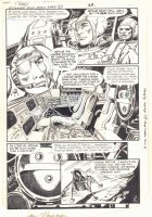 G.I. Combat #282 p.21 - Astronauts in Ship - 1986 Signed Comic Art