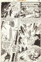 G.I. Combat #190 p.13 - Haunted Tank - 1976 Comic Art
